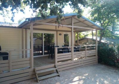location chalet camping toulon